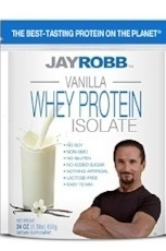Jay Robb 100% whey is our pick for the best grass fed protein powder