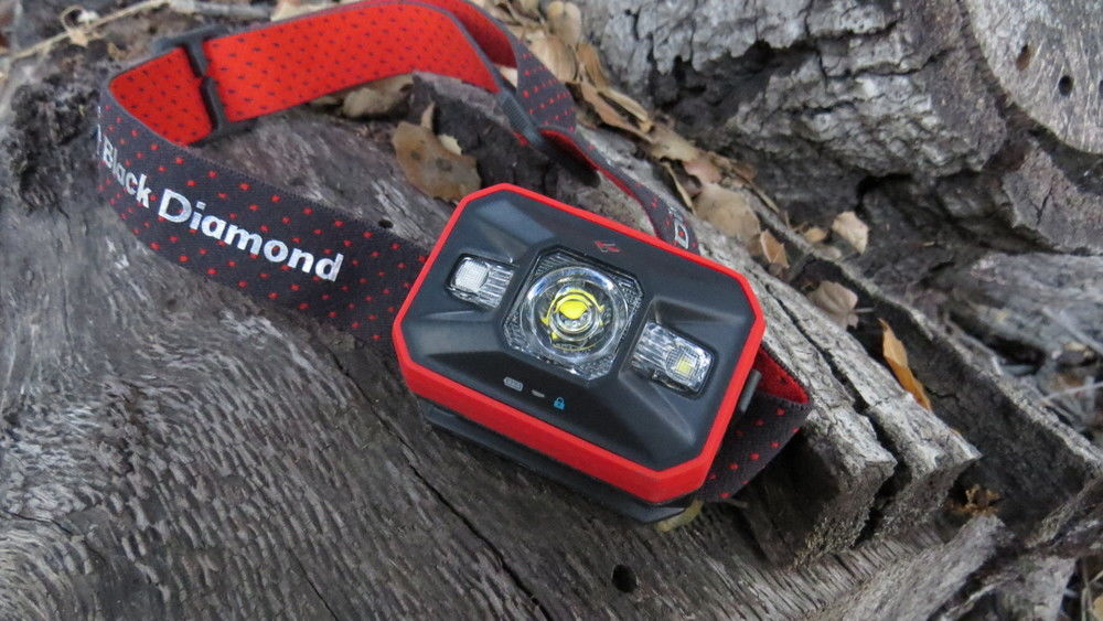 The Black Diamond Spot is our pick for best all-around headlamp.   Photo: John Carr.