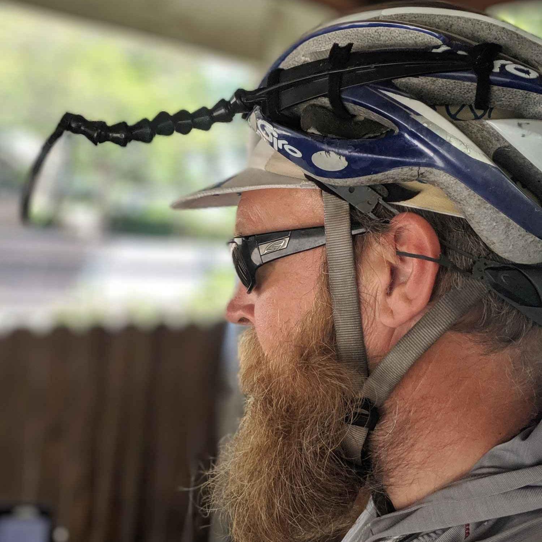 Rear View Mirror - EVT Safe Zone Bike MirrorRead why→