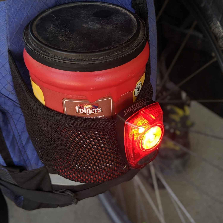 Rear Bike Light - Cygolite Hotshot 100Read why→