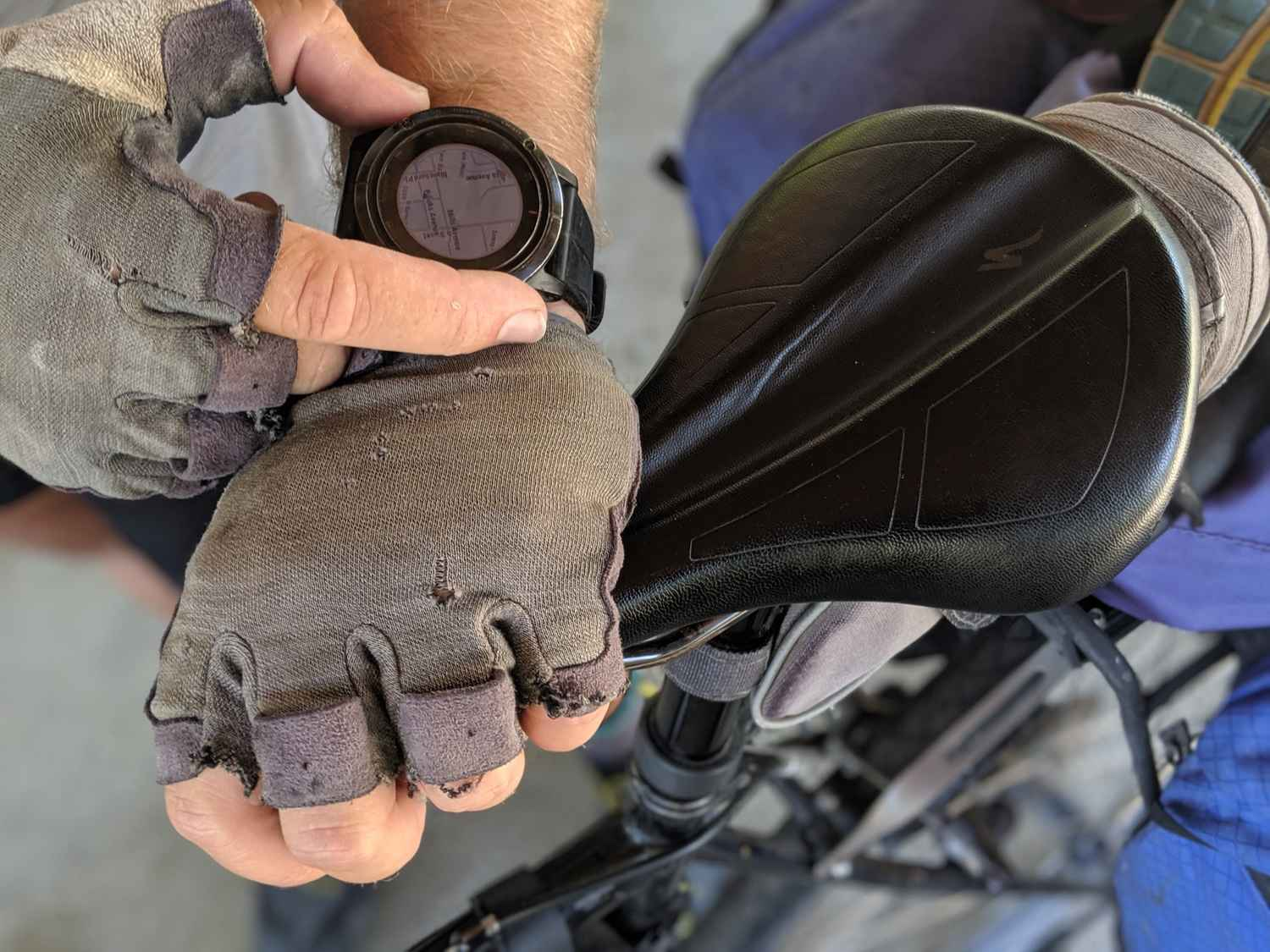 You'll be riding on your bike seat all day. If you can afford a comfortable one, you won't regret it.   Photo by Liz Thomas.