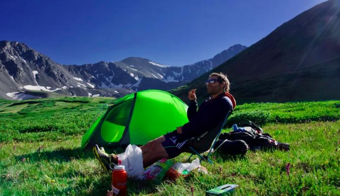 A lightweight tent makes backpacking easier.   Photo by    Matt Gross    on    Unsplash