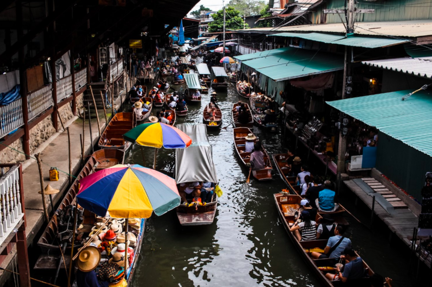 Just to be clear: when traveling internationally, avoid drinking from water in canals. You'll likely be purifying much cleaner looking tap water, which can have invisible microbes which could make you sick.   Photo by    Frida Aguilar Estrada    on    Unsplash