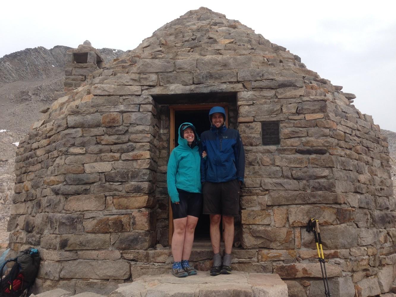 Tester Tiffany Searsdodd (on left) takes the Marmot Minimalist on the John Muir Trail.   Photo courtesy Tiffany Searsdodd