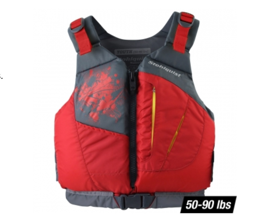 Best youth life jacket - Stohlquist Youth Escape PFDRead why→