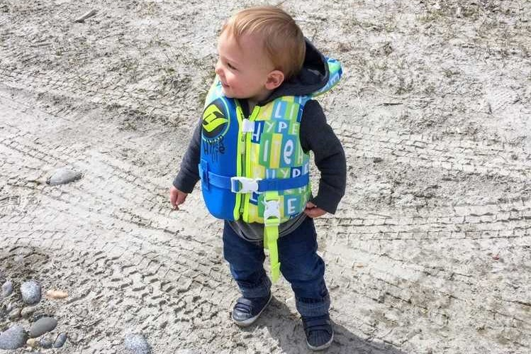 A kids' life jacket is only as safe as how well you size it to your child and the adult supervision you provide.   Photo courtesy Seamus Daniels.