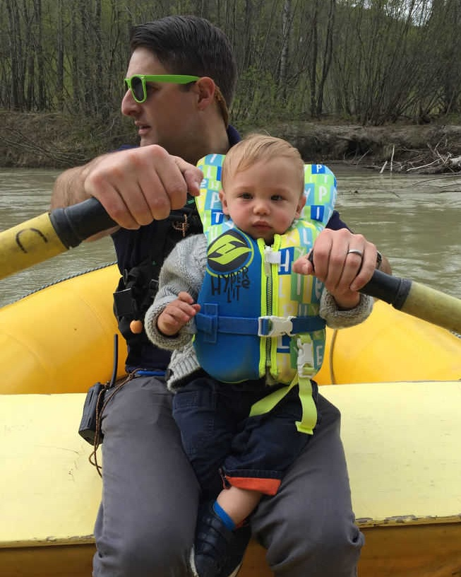 Choosing the right life jacket allows you to introduce your kids to love being on the water and keep up with your favorite activities.   Photo courtesy Seamus Daniels.