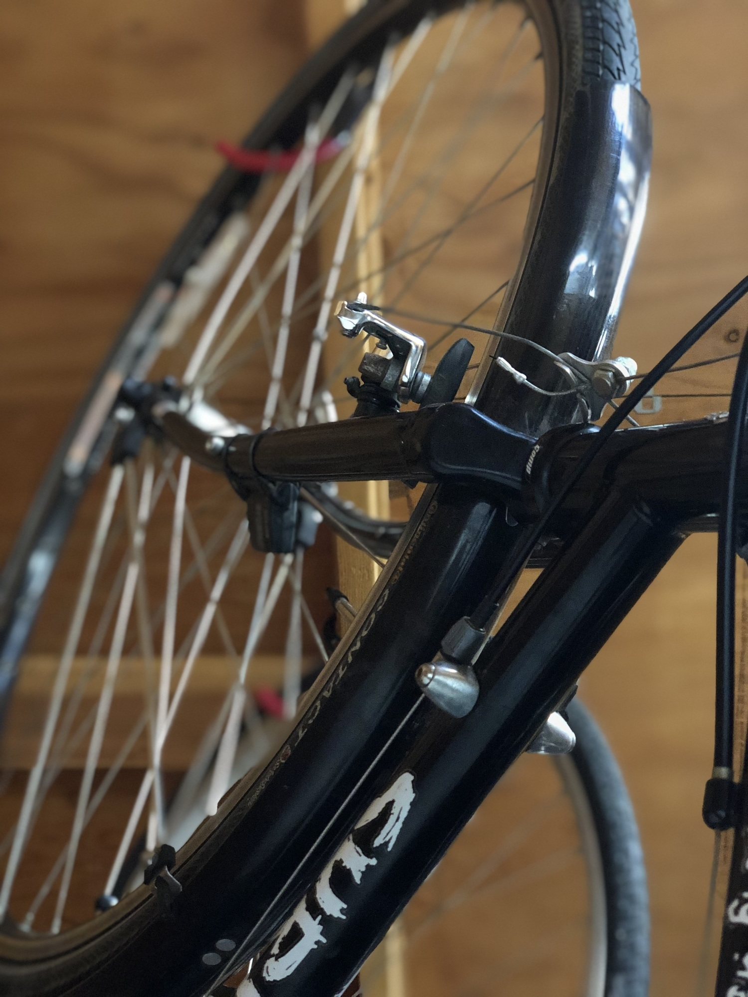 Rim brakes on the Surly Long Haul Trucker
