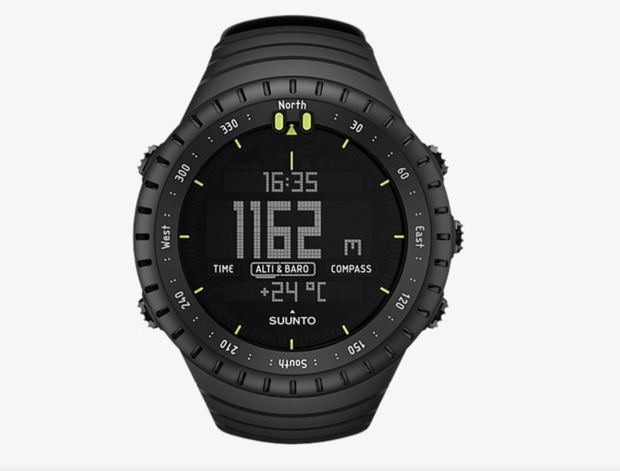 watch - Suunto Core All BlackRead why→