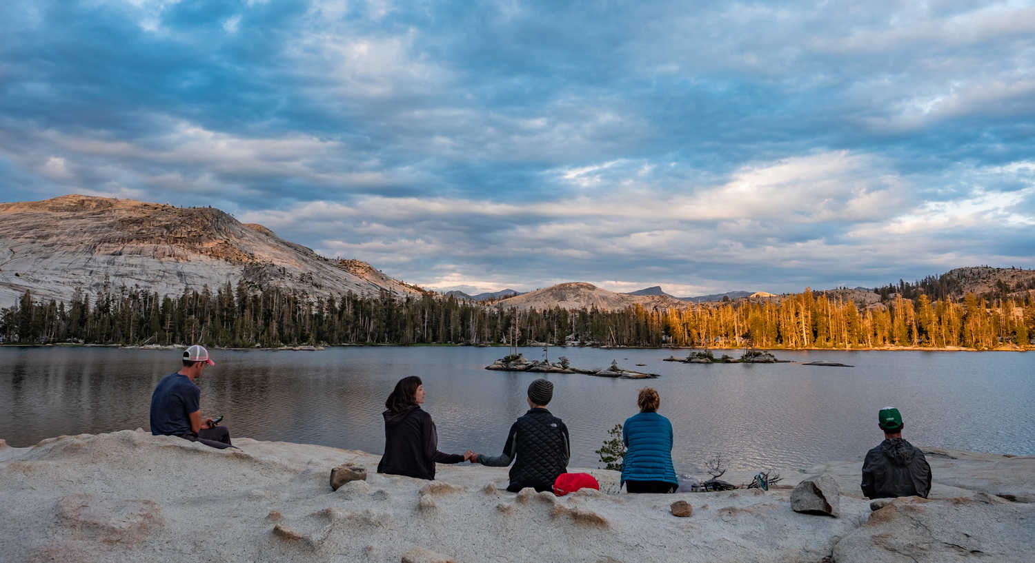 Evenings and mornings can be chilly in the Sierra, especially at altitude. Make sure you bright the correct clothing for a time of day when you are sitting and not generating heat through movement.   Photo by Duncan Cheung.