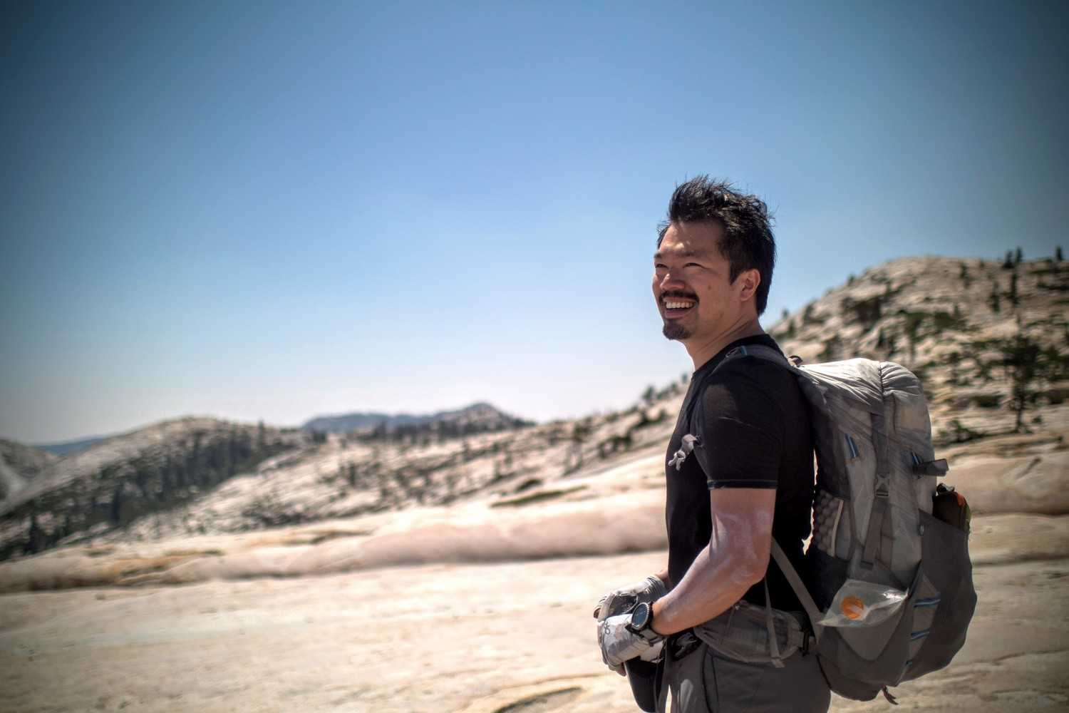 The author of this story, Duncan Cheung, has hiked over 15,000 miles in the Yosemite area and trained 150 students on guided trips in the Northern Sierra.   Photo courtesy Duncan Cheung.