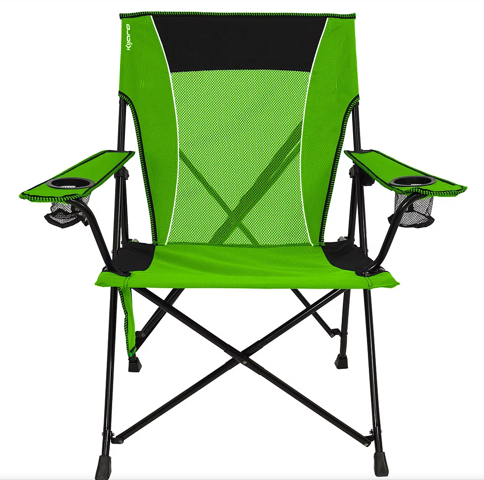 The Kijaro Dual Lock has a study locking leg system that makes this one of the most durable chairs we considered.