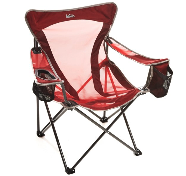 The REI Co-op Camp X Chair is a beloved model that we are testing further.