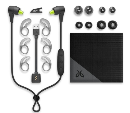 The Jaybird X4 comes with multiple options to ensure a perfect fit.