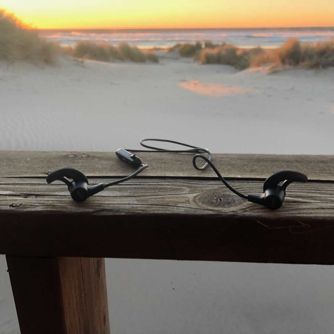 Aukey Latitude after a day of beach hiking near the Oregon Coast Trail.