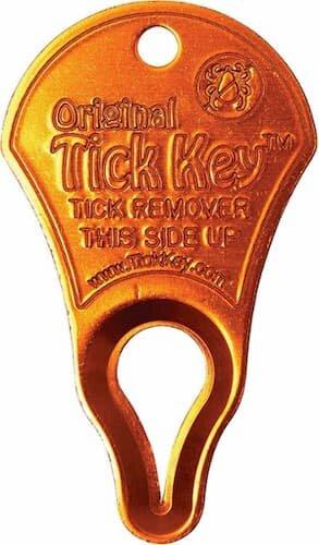 Tick Key in orange.