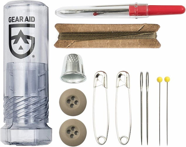 Gear Aid sewing kit.
