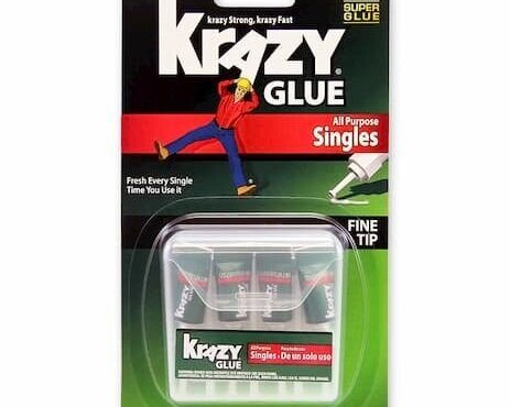 Adhesive - Krazy Glue SinglesRead why→