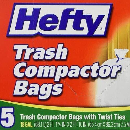 Pack Liner - Hefty Trash Compactor BagsRead why→