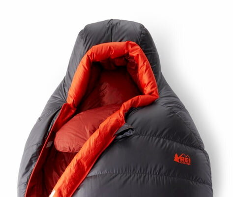 The REI Magma sleeping bag