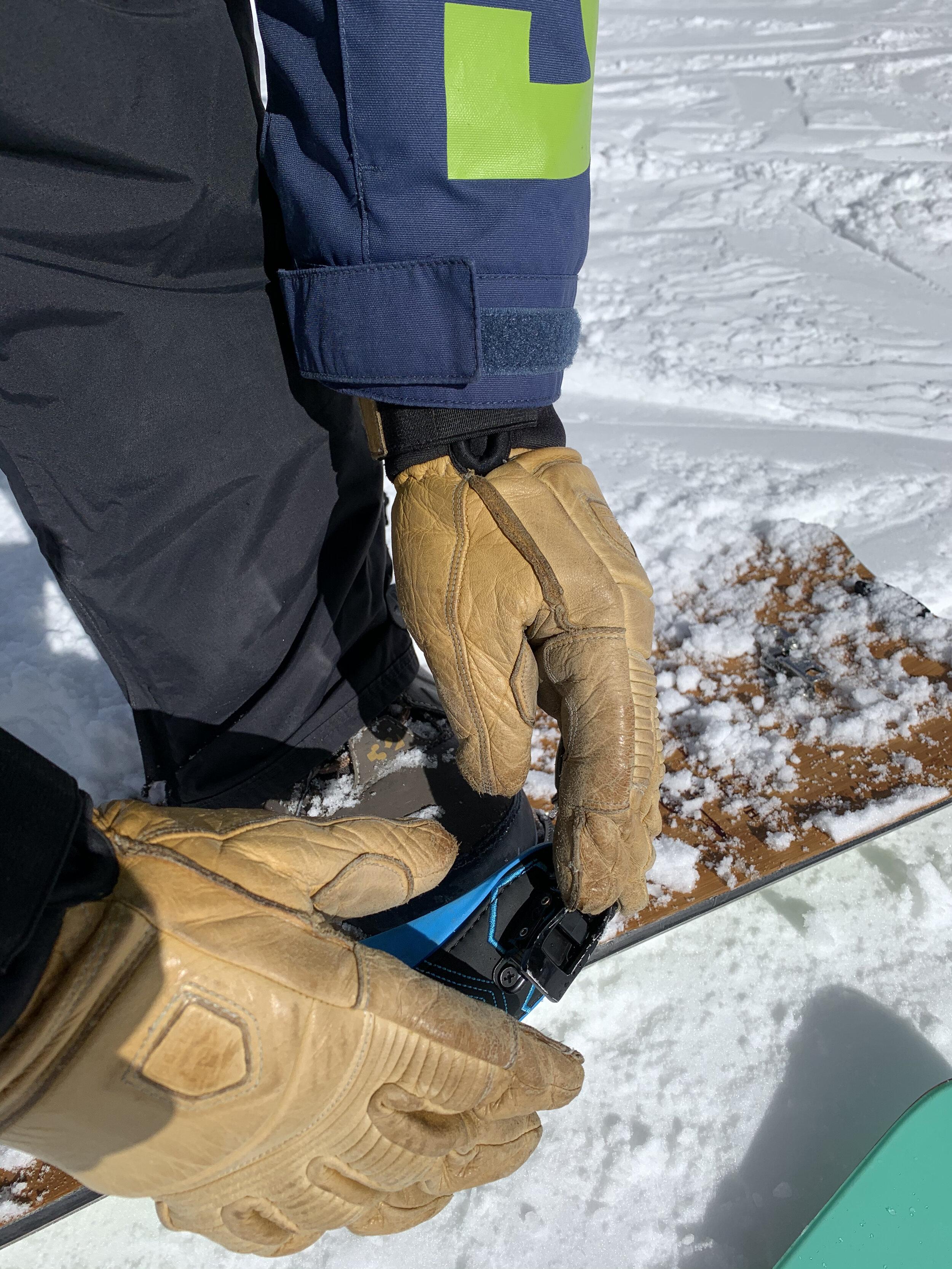 Tan SALE Rab Mens Treeline Glove Waterproof Hard Wearing Leather Medium