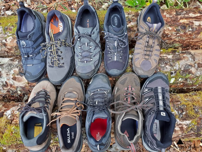 mens low top hiking shoes