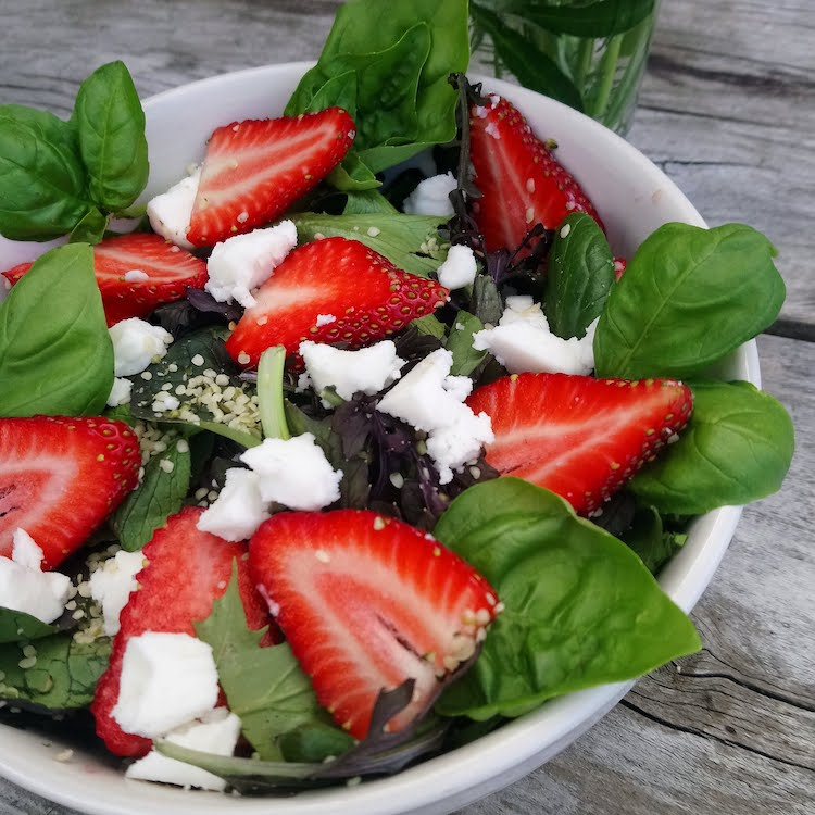 A delicious summery salad!
