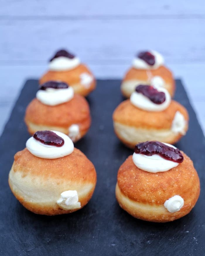 Thanks Malena Penny for sharing your cream cheese donut recipe with us!