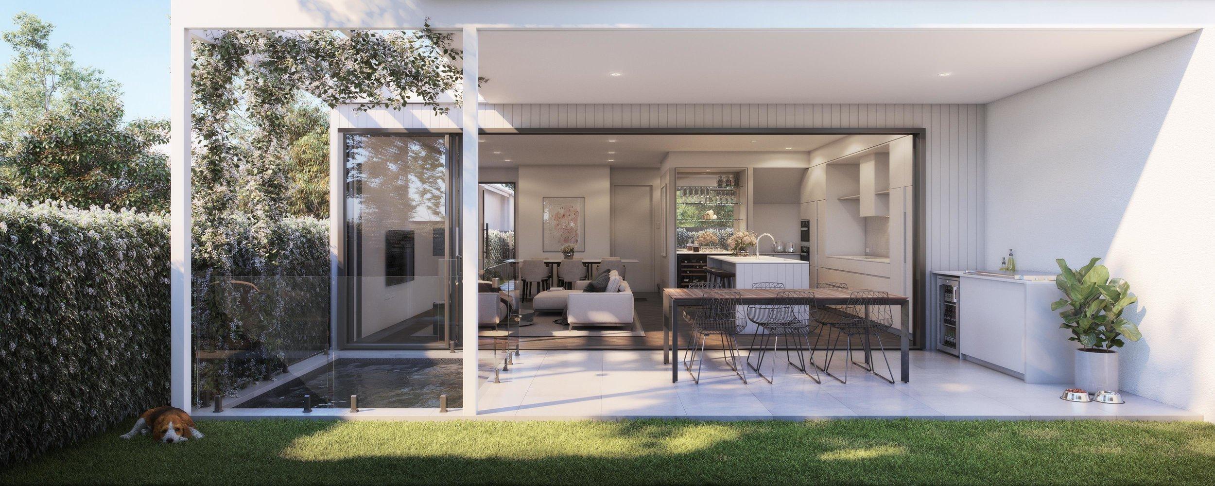 Jardin Residences - Courtyard