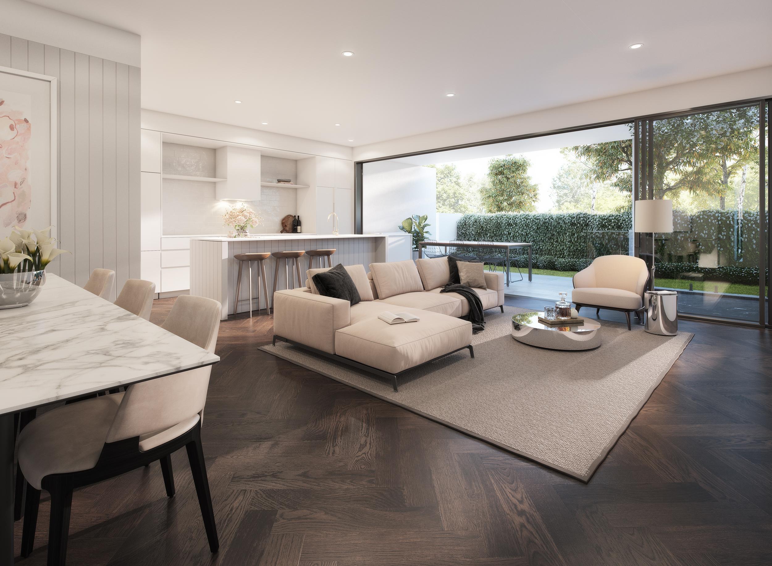 Jardin Residences - Living