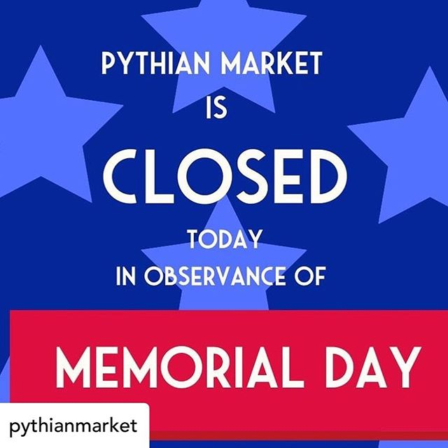 If @pythianmarket is closed, that means that @little.fig is closed, too. Don't worry, we're back to business as usual tomorrow! . #Posted @withrepost . #foodhallforall #foodhall #littlefig #1000figs #falafel #memorialdayweekend