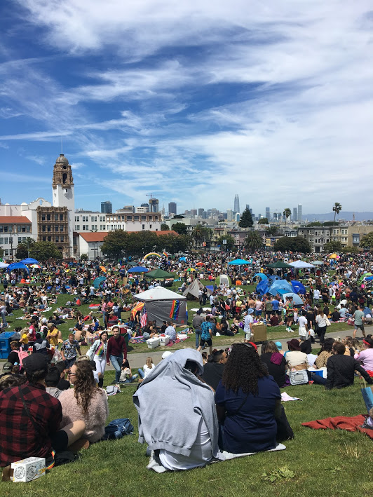Dyke March, Mission Dolores Park