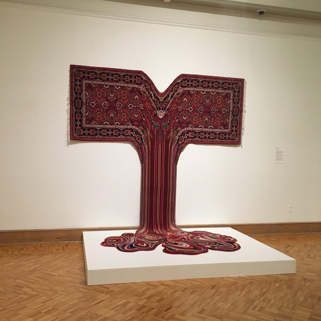 "Someone help this rug, it's melting! ""Siddharta Gautama"""