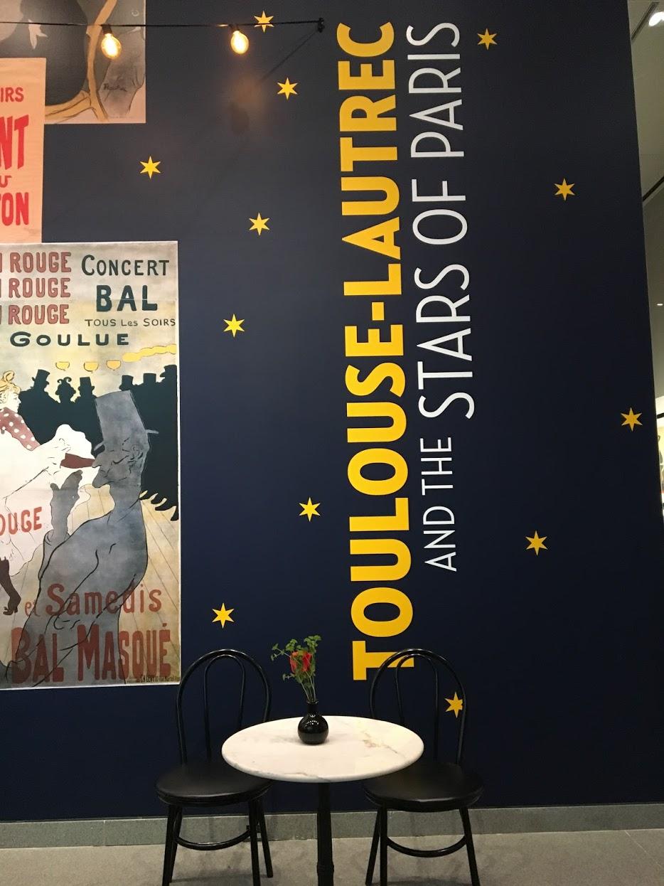 Toulouse-Lautrec and the Stars of Paris exhibit