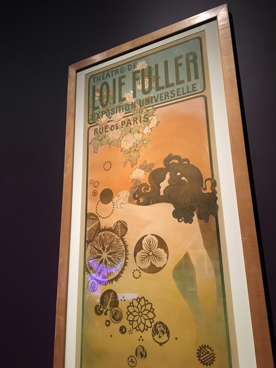 Toulouse-Lautrec poster for Loie Fuller