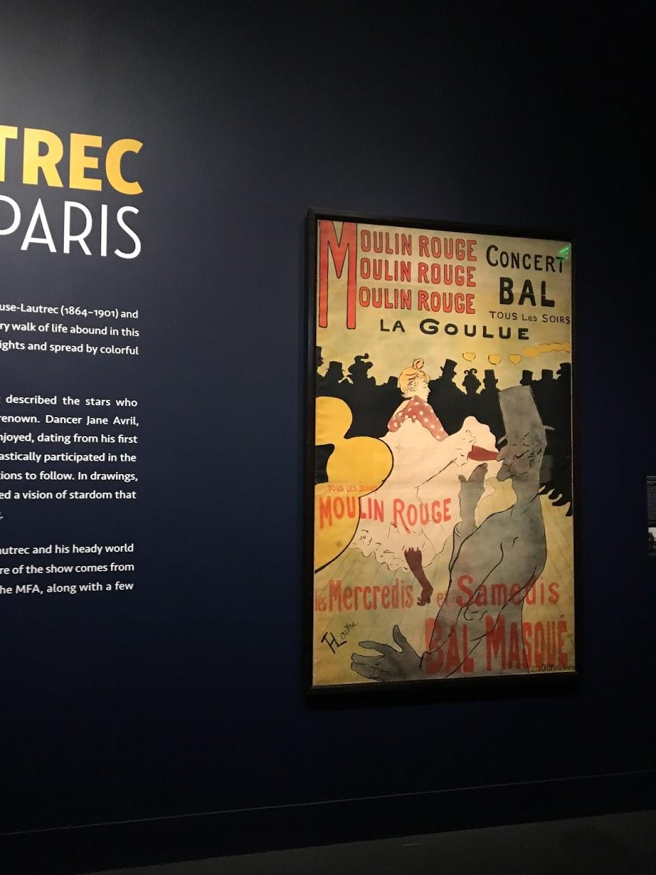 Toulouse-Lautrec Moulin Rouge poster