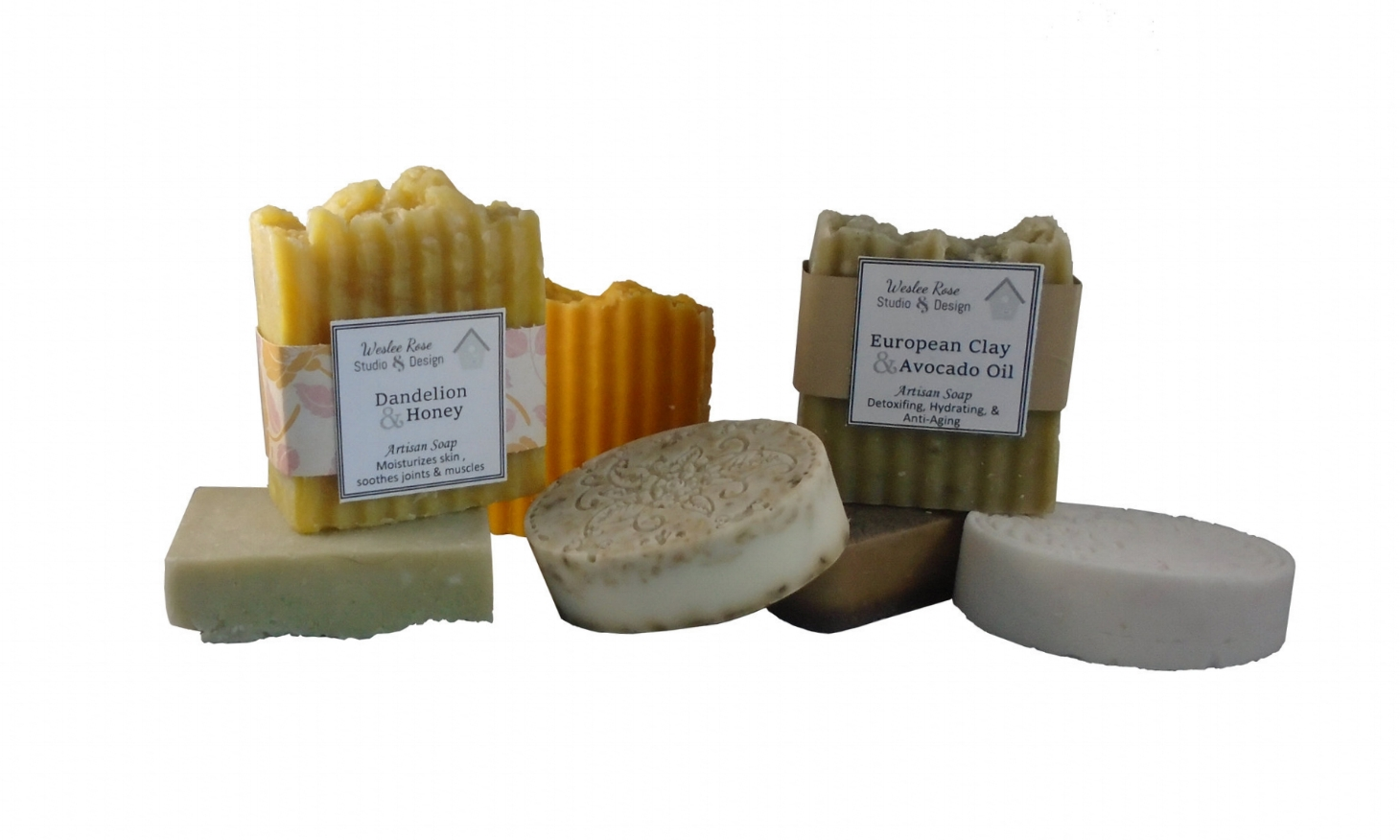 Organic Soap - Handmade soaps made from the best organic ingredients.