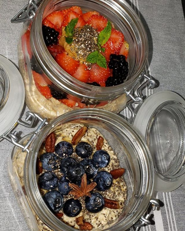 Ever tried overnight oats? They are absolutely delicious. Come to village cafe for a yummy overnight oats breakfast!!!!
