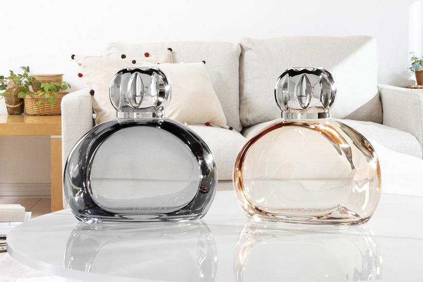 SERENITY LAMPS - Gray / Honey