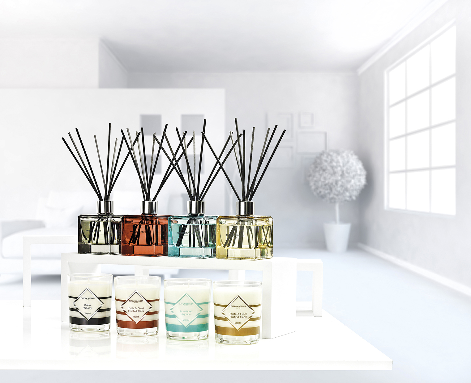 ANTI-ODOR BOUQUETS & CANDLES
