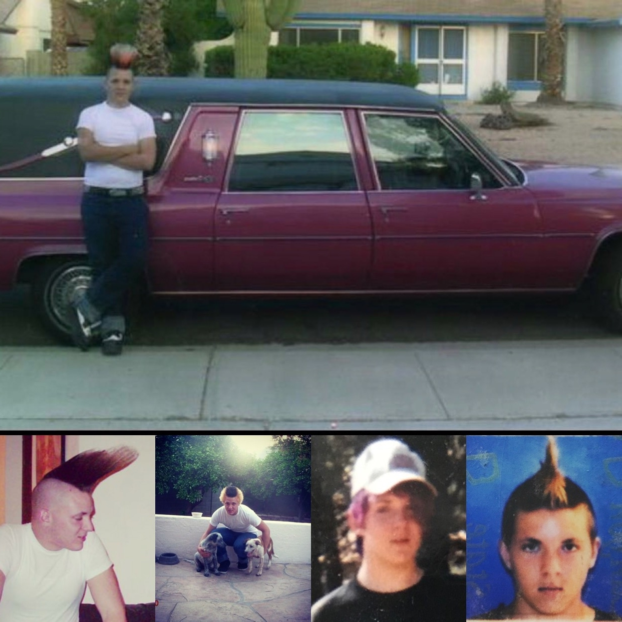 It got so much worse. Like, he drove a f***in hearse through college -