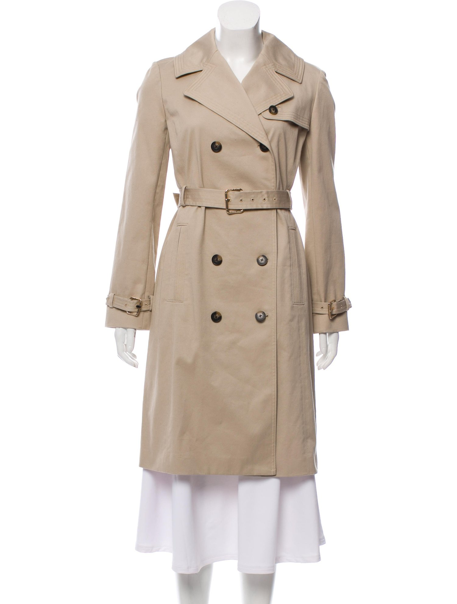 Double Breasted Classic Trench Coat by Tory Burch -