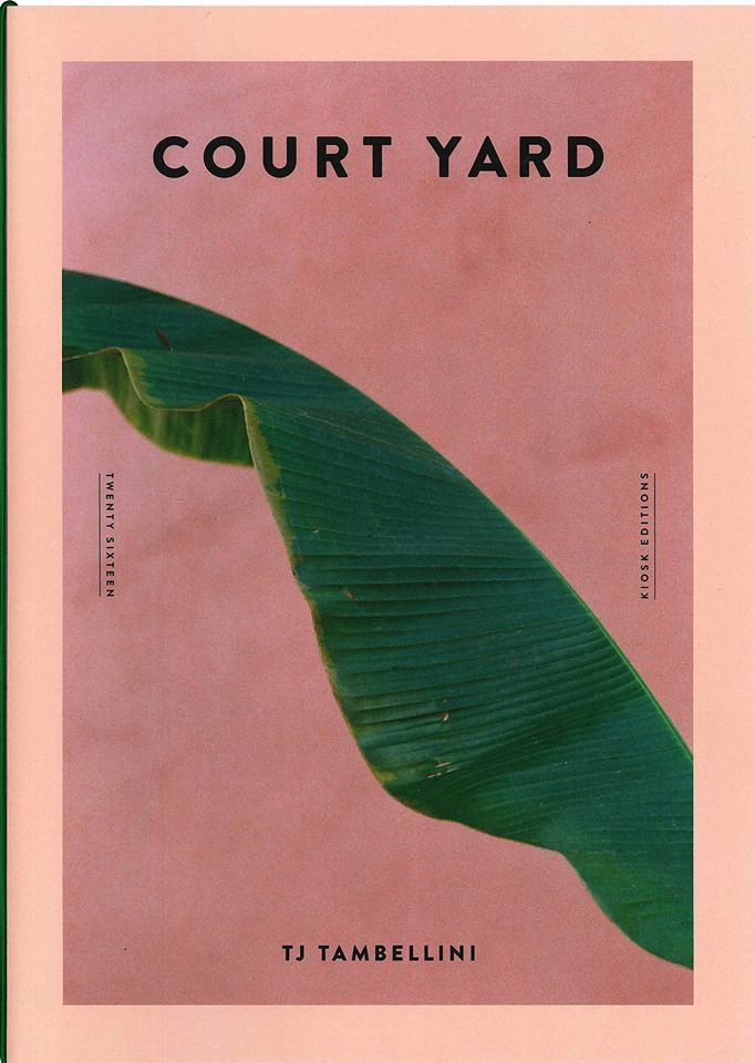 Court Yard par TJ Tambellini 16 page A4, édition limitée à 100 Disponible chez Kiosk.jpg