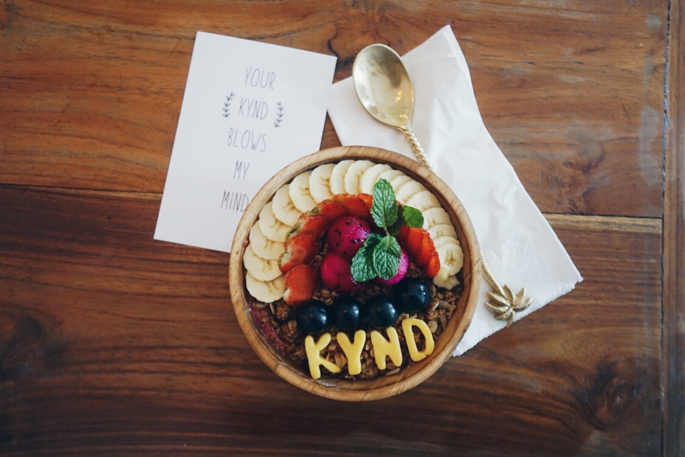 Smoothie Bowl from Kynd Community, Bali