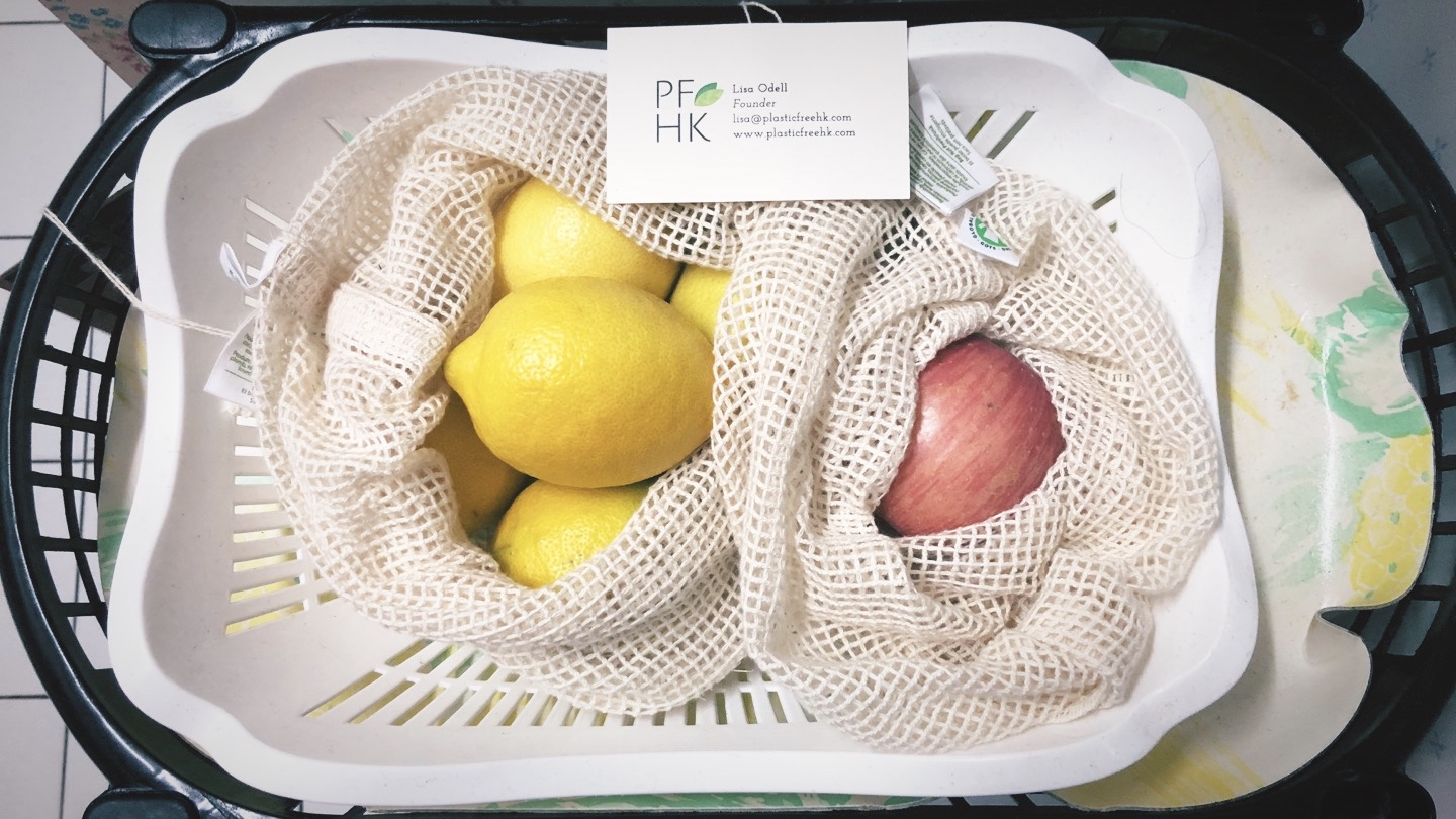 Mesh Produce Bags from Plastic Free HK