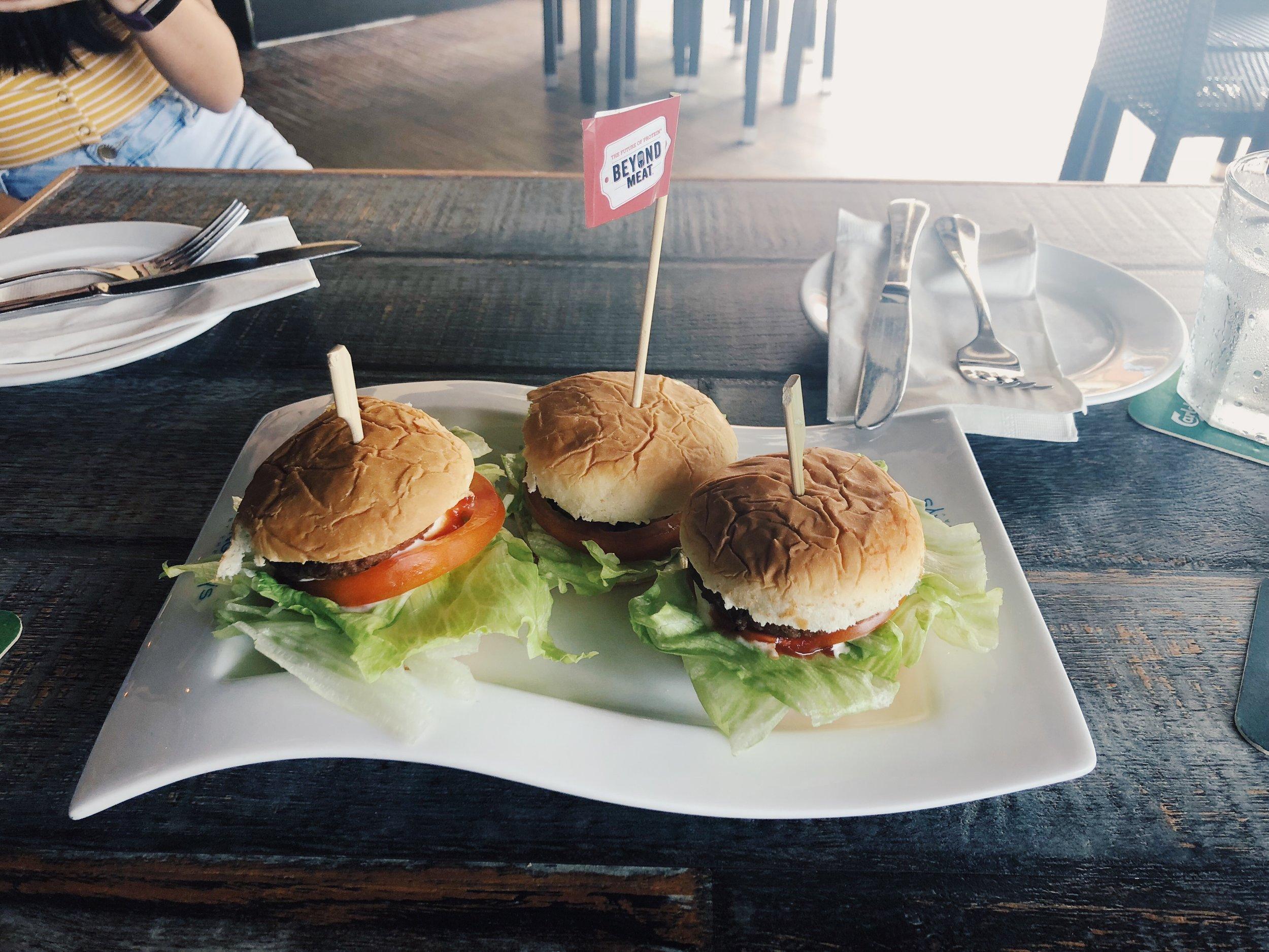 Beyond Burger Sliders