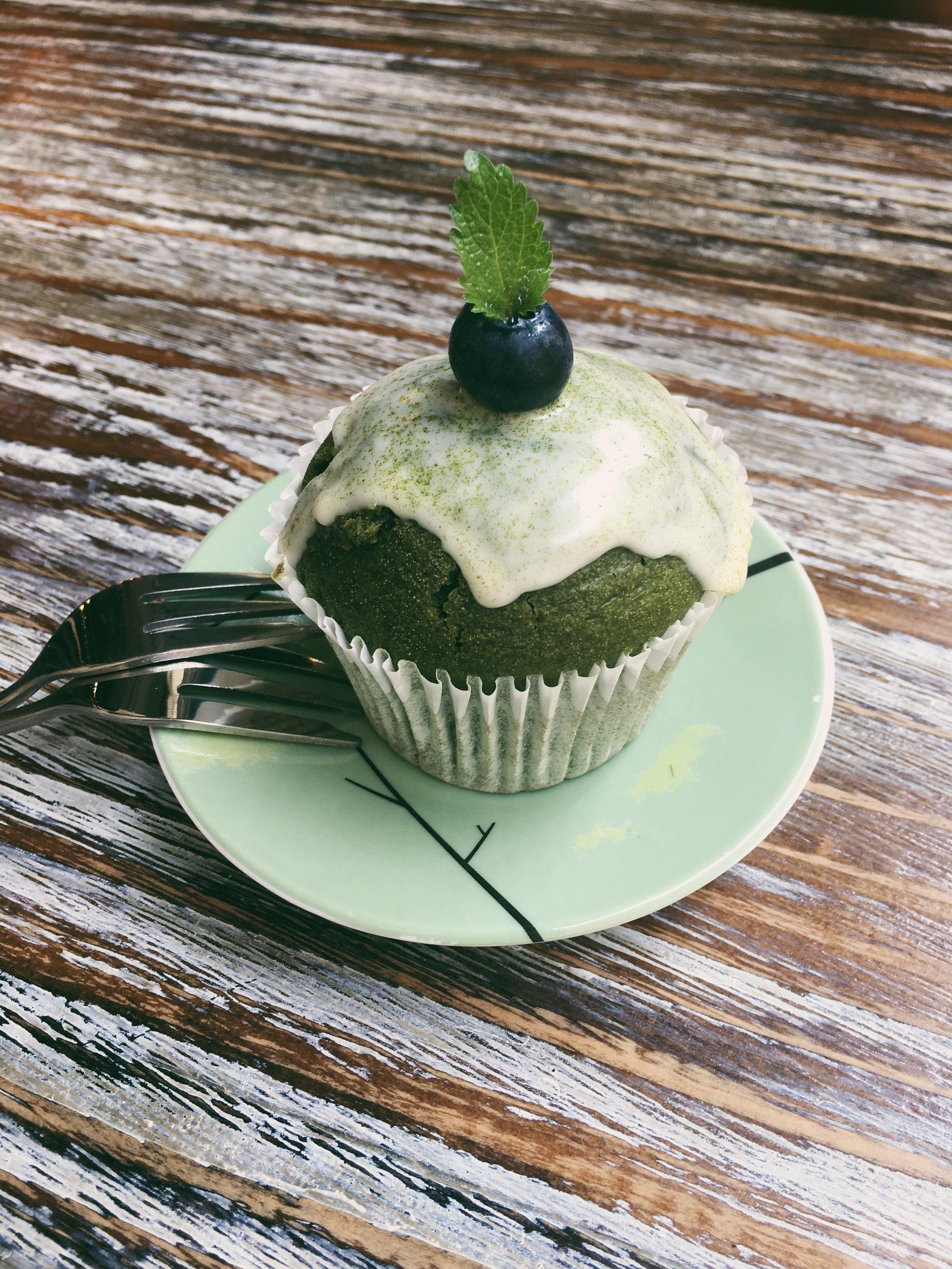 Matcha Cupcake (also 10/10)