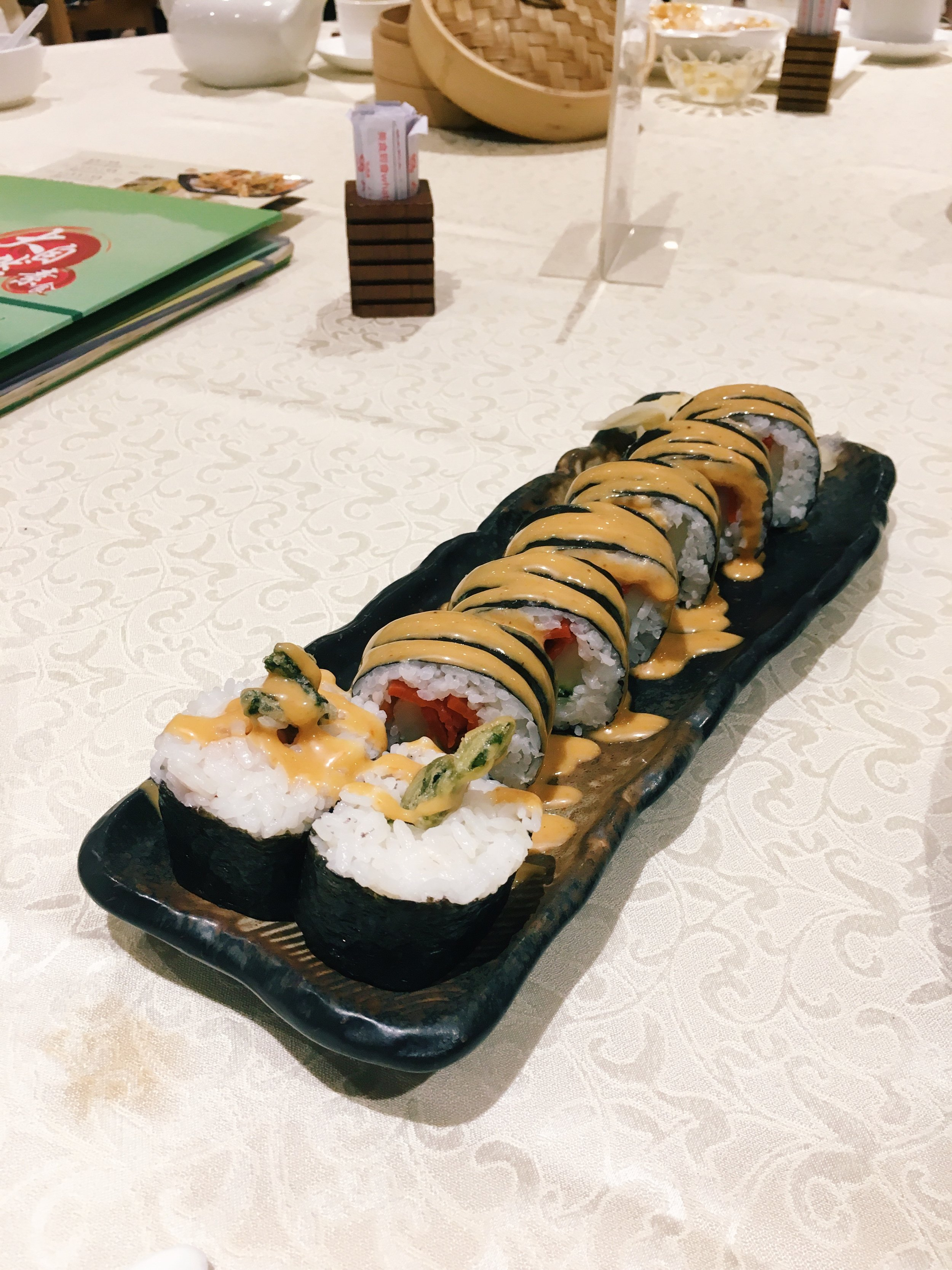Soft-Shell 'Crab' Sushi