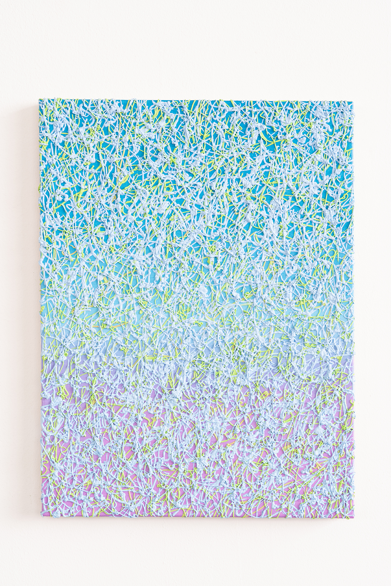 Philip Hardy   Noodle Painting (Aqua)  2018  Photo credit Rob Ventura