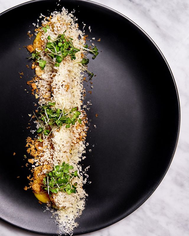 We are open for Dinner Friday 9th August  LEEKS Béarnaise. Hazelnut. Breadcrumbs. Hard Cheese  Charred leeks served with pickled lemon, hazelnut, breadcrumb, brown butter béarnaise & finely grated hard cheese  Reservations : www.riverinerabbit.com  info@riverinerabbit.com or via @dineplan_app  #capetown #capetownsouthafrica #riverinerabbitrestaurant #riverinerabbit #capetownrestaurants #capetownfoodie